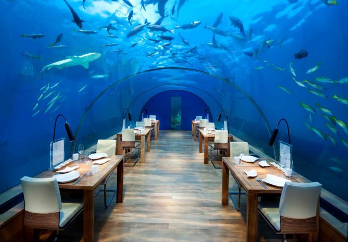 В Индии открылся первый подводный ресторан