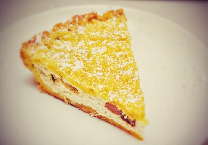 Рецепт пирога с творогом и изюмом в мультиварке