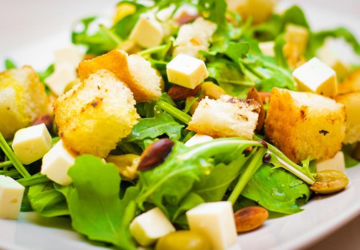 Рецепт салата с руколой