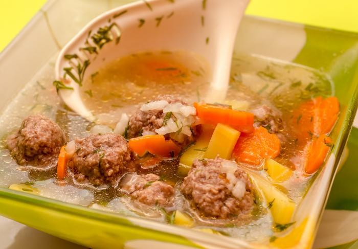 Рецепт супа с фрикадельками в мультиварке