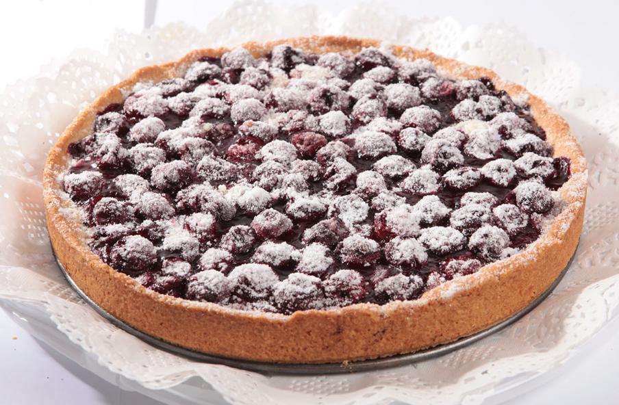 Песочное тесто для пирога с вишней рецепт