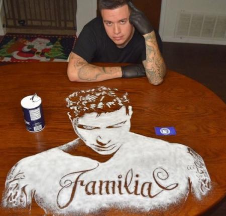Мексиканский художник создает портреты из соли