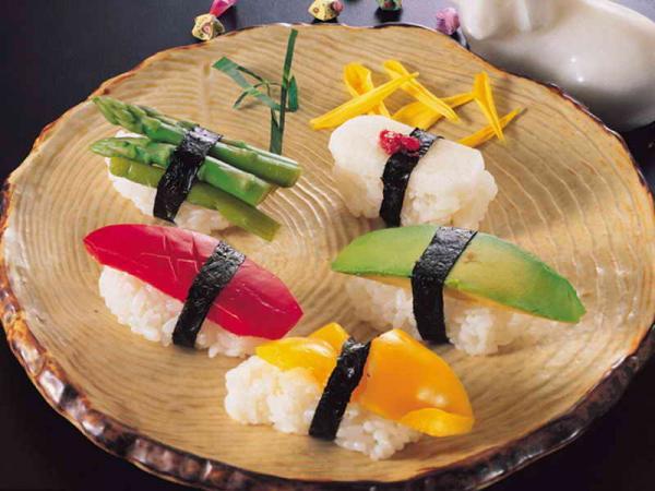 Первый раз в суши–баре
