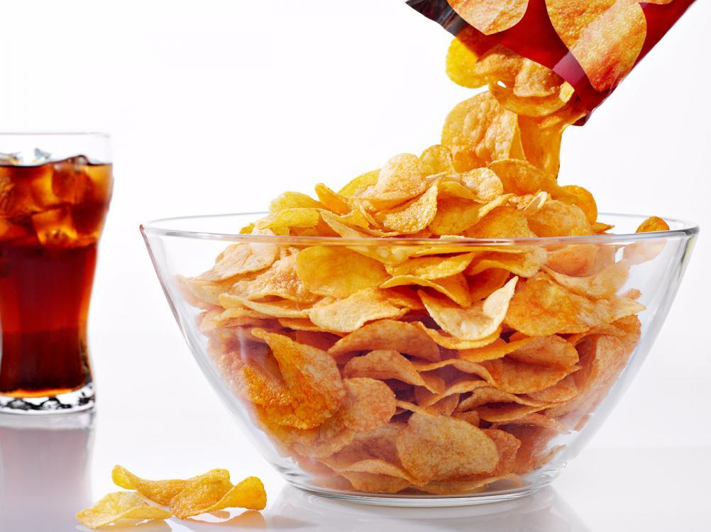 Газировка со вкусом чипсов появилась в Японии