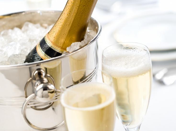 Благородное вино Шампани