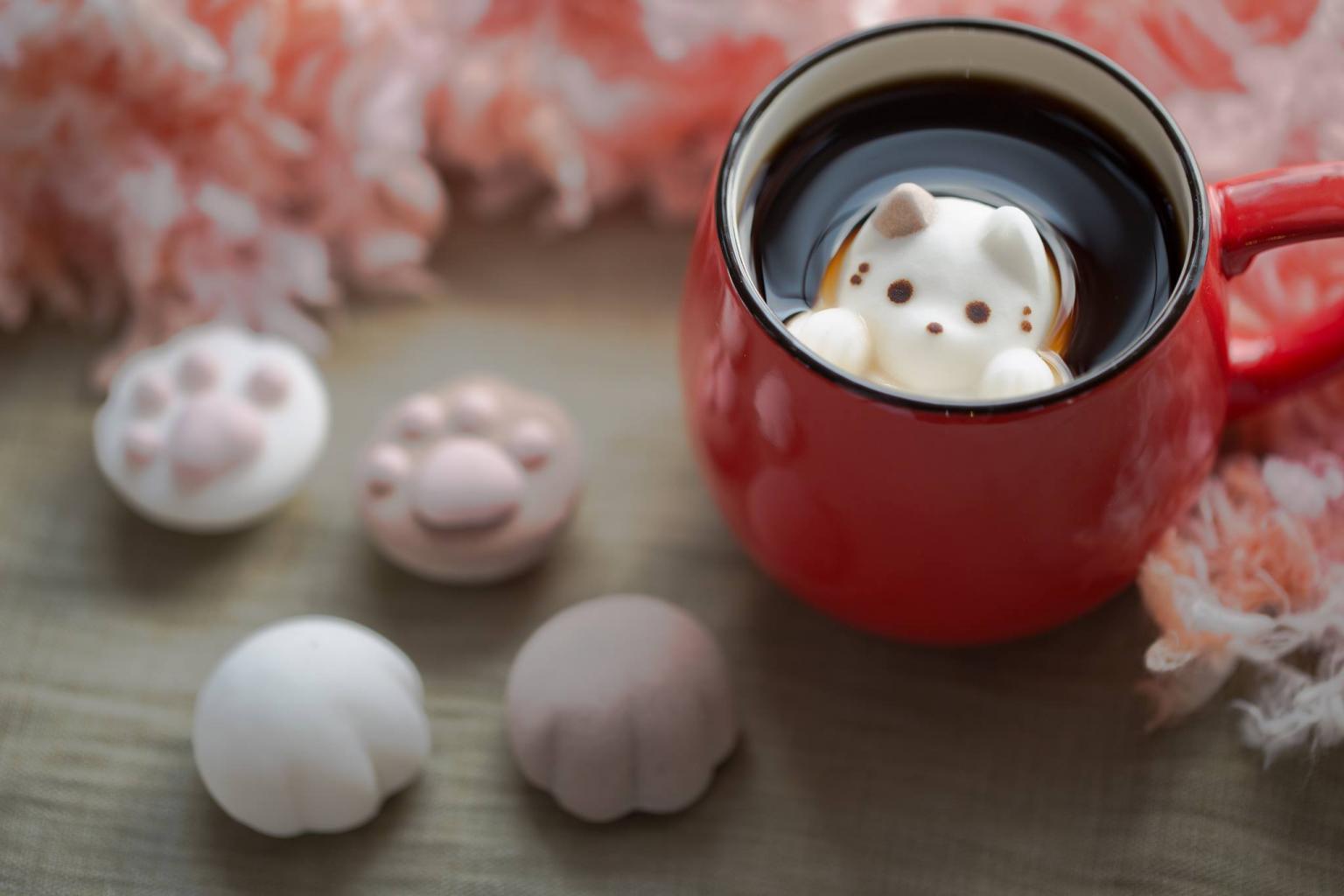 Кафе Японии привлекает клиентов десертами в виде котов