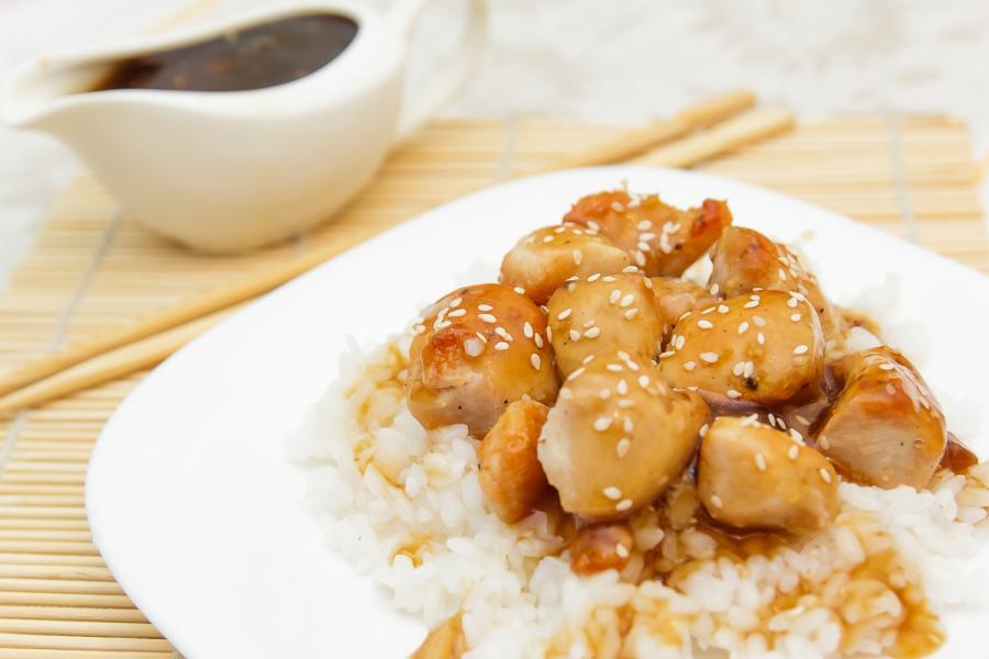 курица с в соусе терияки рецепт с фото