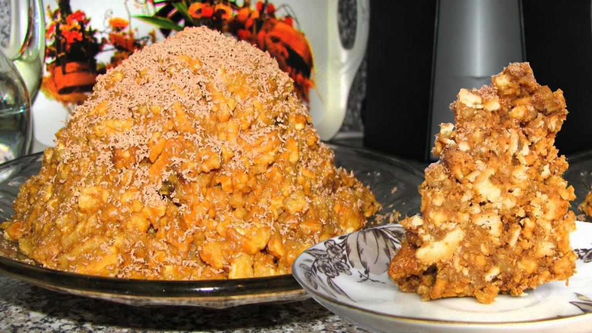 Торт муравейник классический