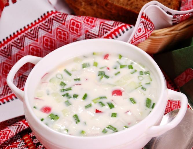 Окрошка – любимый суп лета