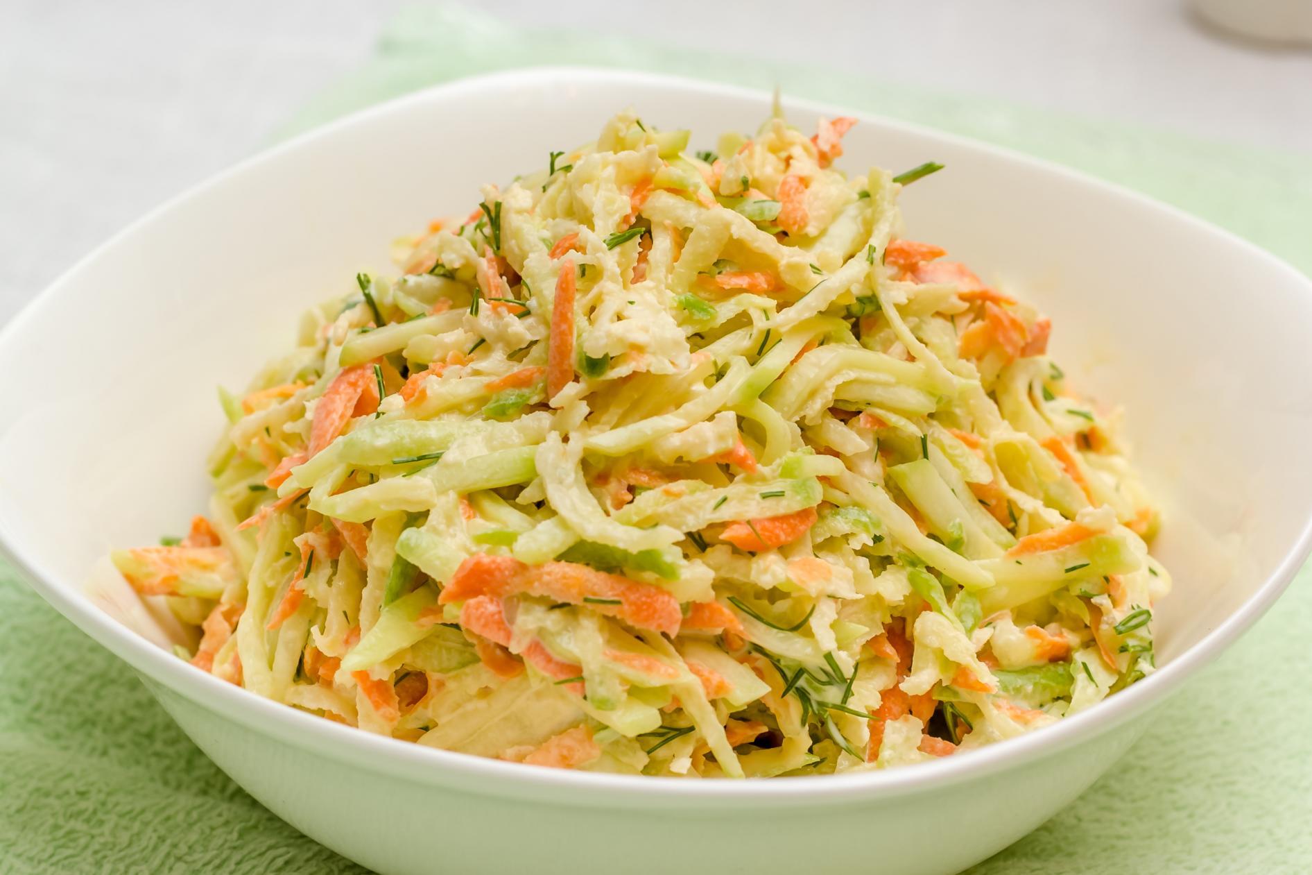Рецепт салата из редьки с морковью