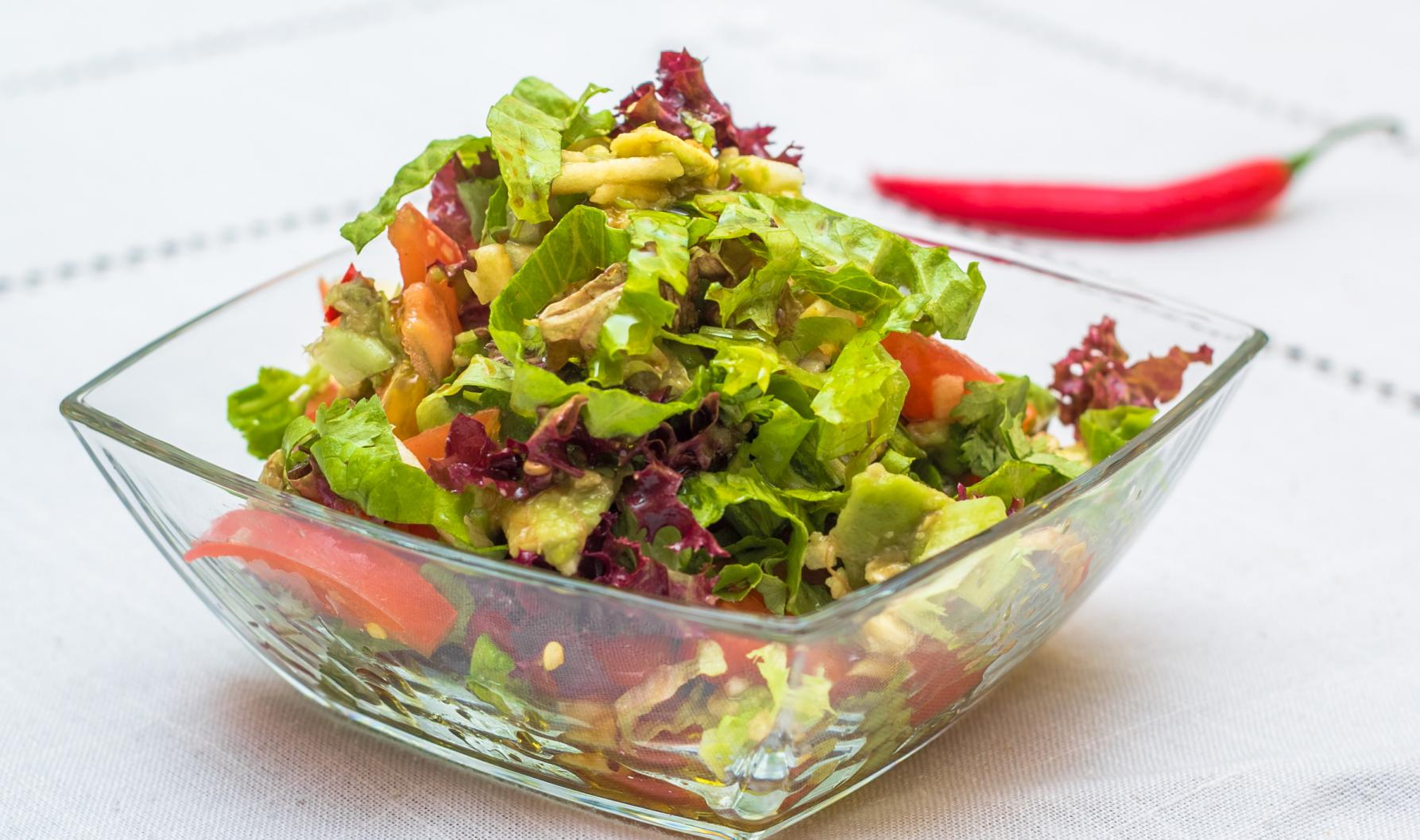 Рецепт салата сальсы