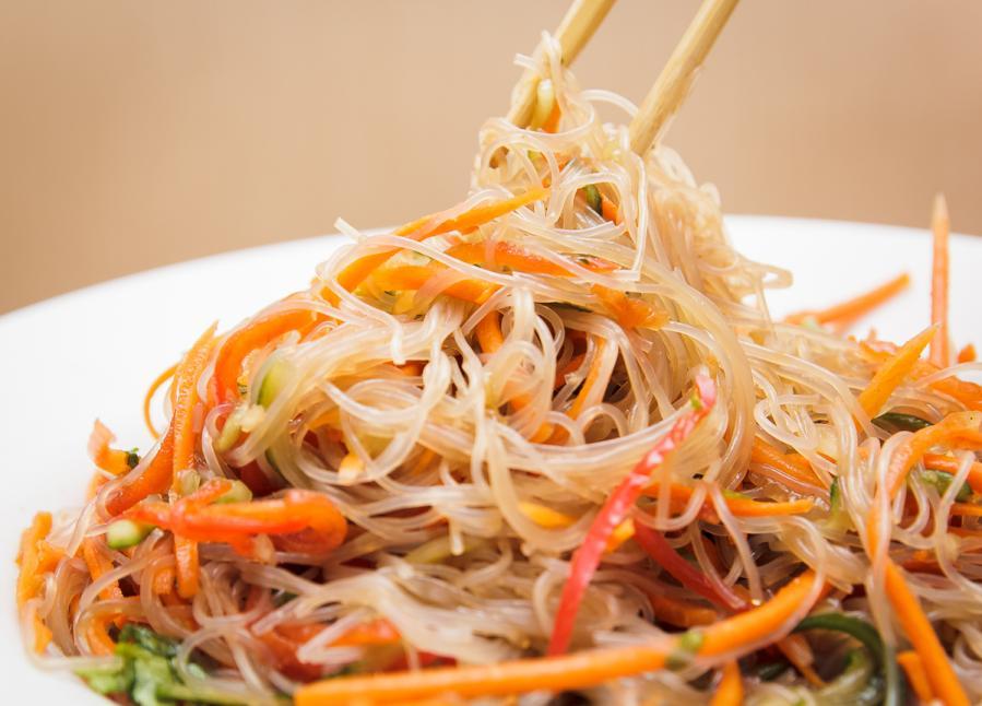 салат фунчоза рецепт в домашних условиях с овощами