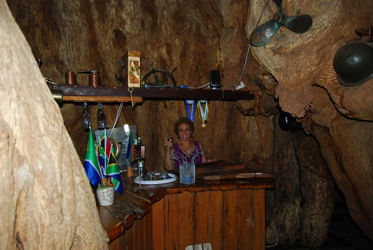 В ЮАР открылся бар внутри баобаба